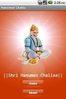Screenshot of Shri Hanuman Chalisa
