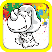 Dino Color Mix - Kids Fun Game