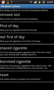 Smoke Control / Quit Smoking - screenshot thumbnail
