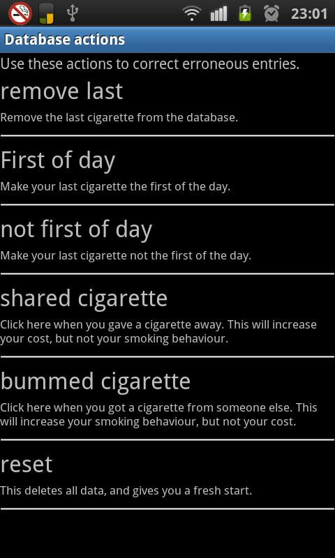 Smoke Control / Quit Smoking - screenshot