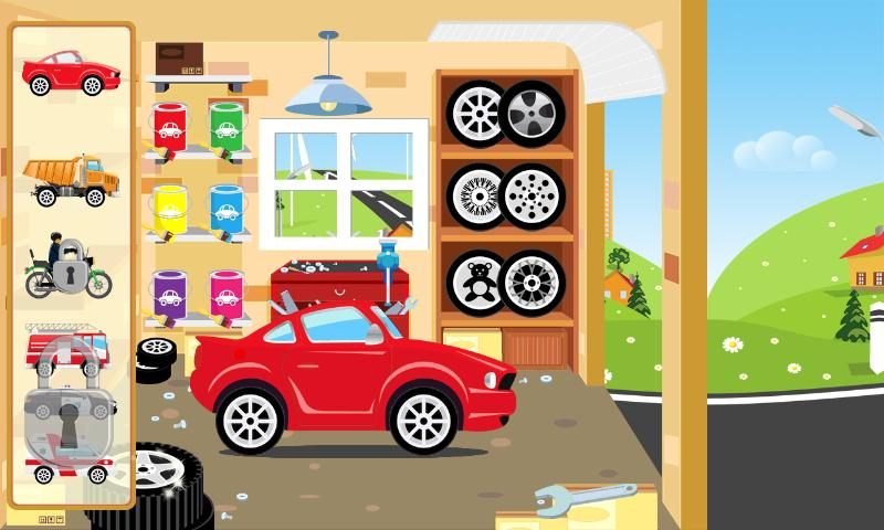 Kids CARS - screenshot
