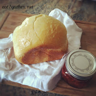 Honey White Bread ~ for your bread machine.