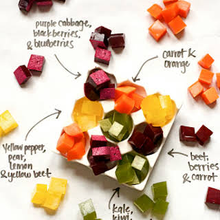Fruit and Vegetable Juice Gummy Snacks (Master Recipe).