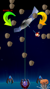 LASER SHIELD asteroids defense- screenshot thumbnail