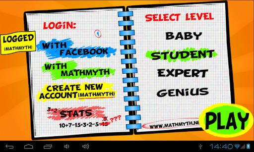 【免費休閒App】Math Myth challenge-APP點子