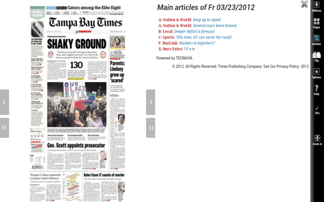 Tampa Bay Times - screenshot