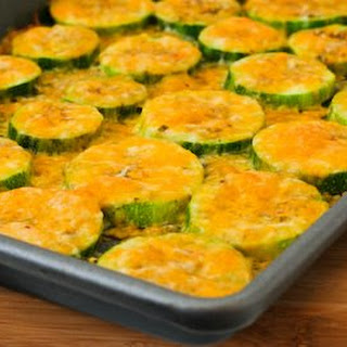 Val's Kid-Friendly Broiled Zucchini with Cheese.