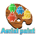 Aerial paint icon