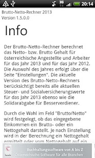 Brutto Netto Rechner 2013 - screenshot thumbnail