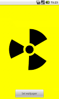 Screenshot of Nuclear Sign Wallpaper