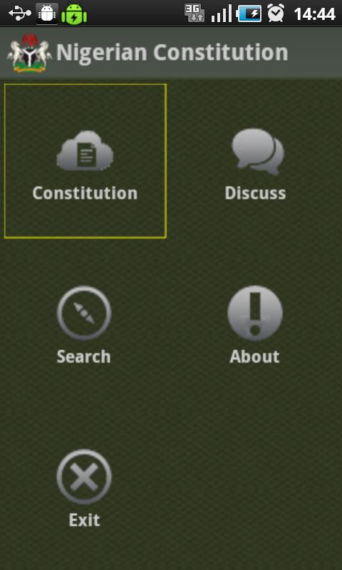 Nigerian Constitution- screenshot