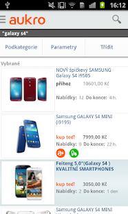 Aukro.cz - screenshot thumbnail