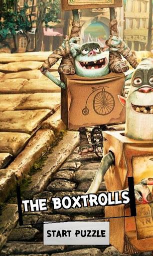 Boxtrolls Pluzzle 2014