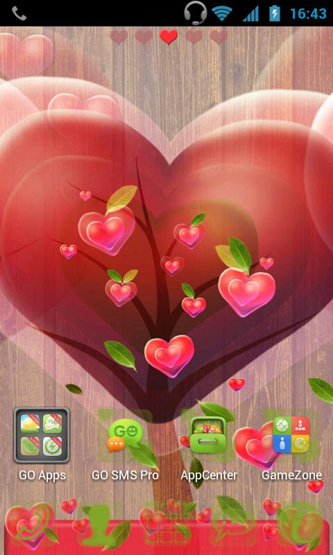 Fabulous Hearts Launcher Theme- screenshot