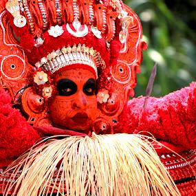 India, Kerala Temple Festival: Theyyam by Seema Nair - Uncategorized All Uncategorized ( theyyam, india, kerala, festival, india colors,  )
