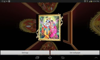 Screenshot of 3D Shree Krishna LWP