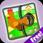 Kids Jigsaw Puzzles Farm Free icon