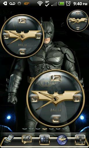 蝙蝠侠黑暗骑士时钟设置
