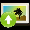 PhotoUploader logo