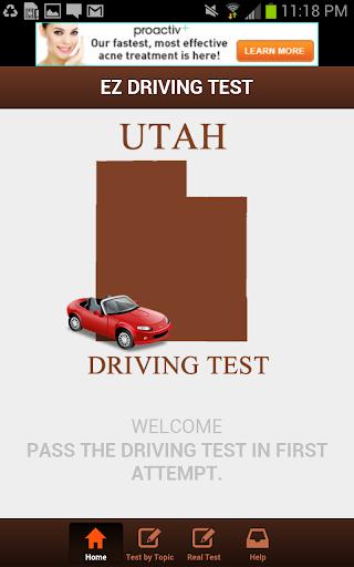 Utah Driving Test