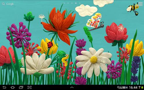 Plasticine Spring flowers Free