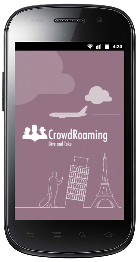 CrowdRoaming Prevents Roaming - screenshot