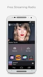 Slacker Radio Screenshot 1