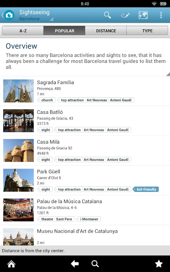 Spain Travel Guide - screenshot