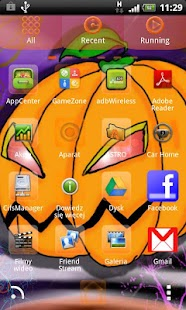 Halloween - GO Launcher Theme- screenshot thumbnail