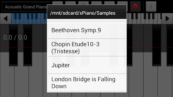 xPiano+- screenshot thumbnail