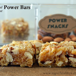 Spartan Kids Almond Coconut Power Bars.