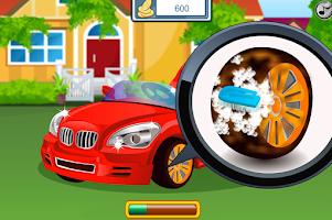 Screenshot of Kids Car Wash
