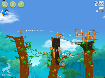 Angry Birds Rio Screenshot 2
