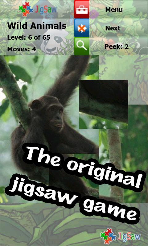Wild animals puzzle: Jigsaw - screenshot
