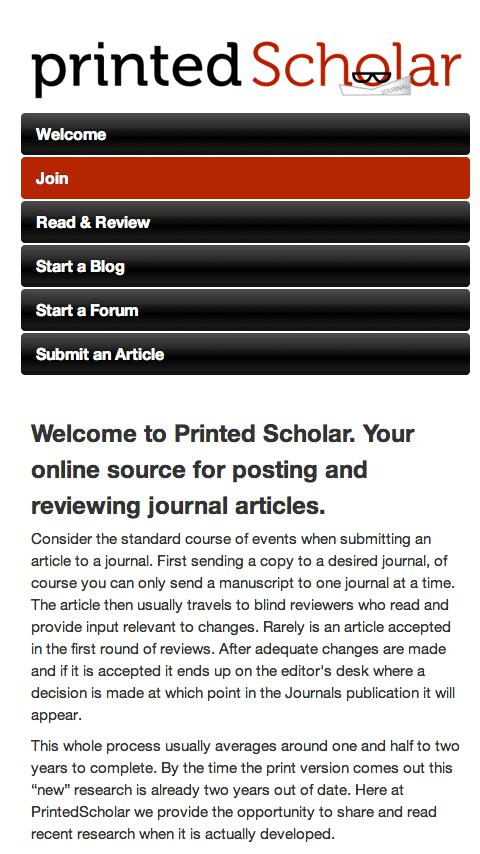 Printed Scholar - screenshot