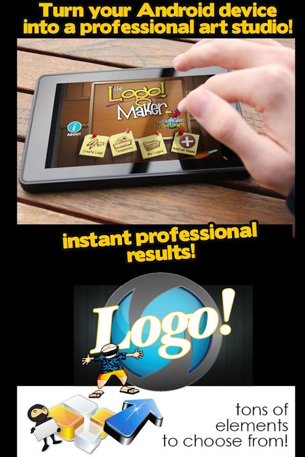Logo Maker & Graphics Creator - screenshot