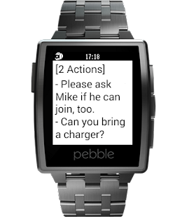 reqallable for Pebble Screenshot 3