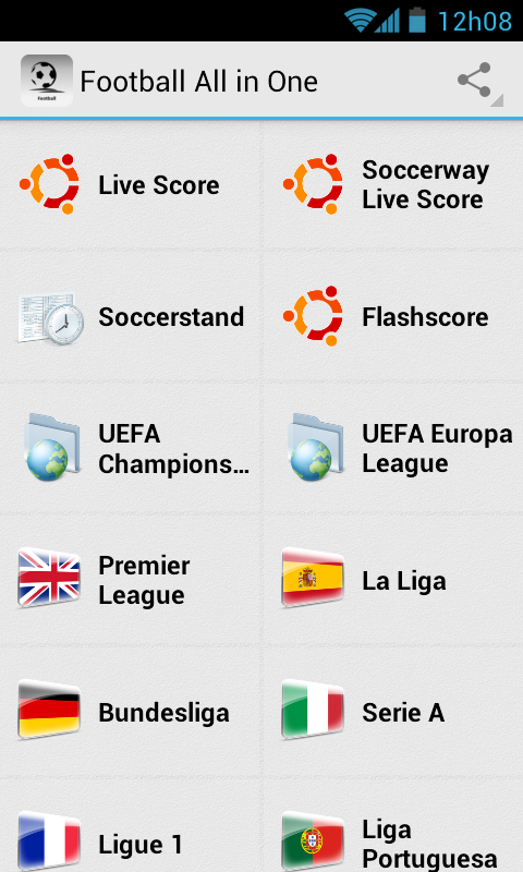 All-in-One Football News - screenshot