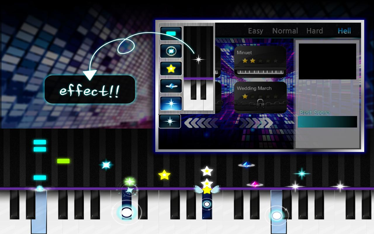 play piano for free games