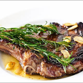 Rosemary Garlic Steak.