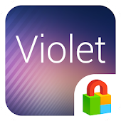 Violet Dodol Locker Theme