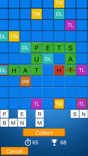Word game: AlphaDice