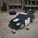 3D Police Car Parking icon