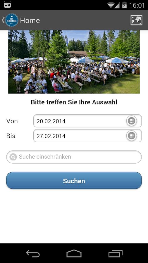 Die Tegernsee-App- screenshot