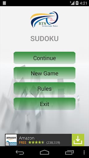 Sudoku BTS