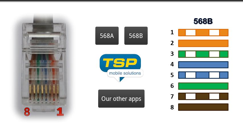 Ethernet RJ45 Colors: Donate - screenshot