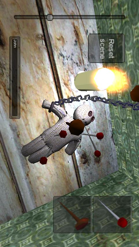 voodoo doll 3D- screenshot
