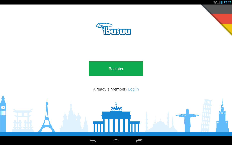 Learn German with busuu - screenshot