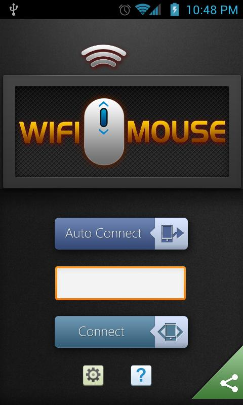 WiFi Mouse - screenshot