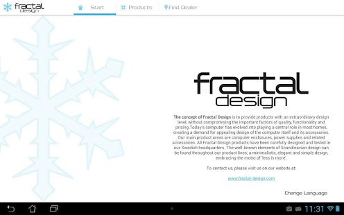 FRACTAL DESIGN - screenshot thumbnail